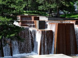 Keller Fountain Park, Portland. We used to go here all the time when I was a kid =)