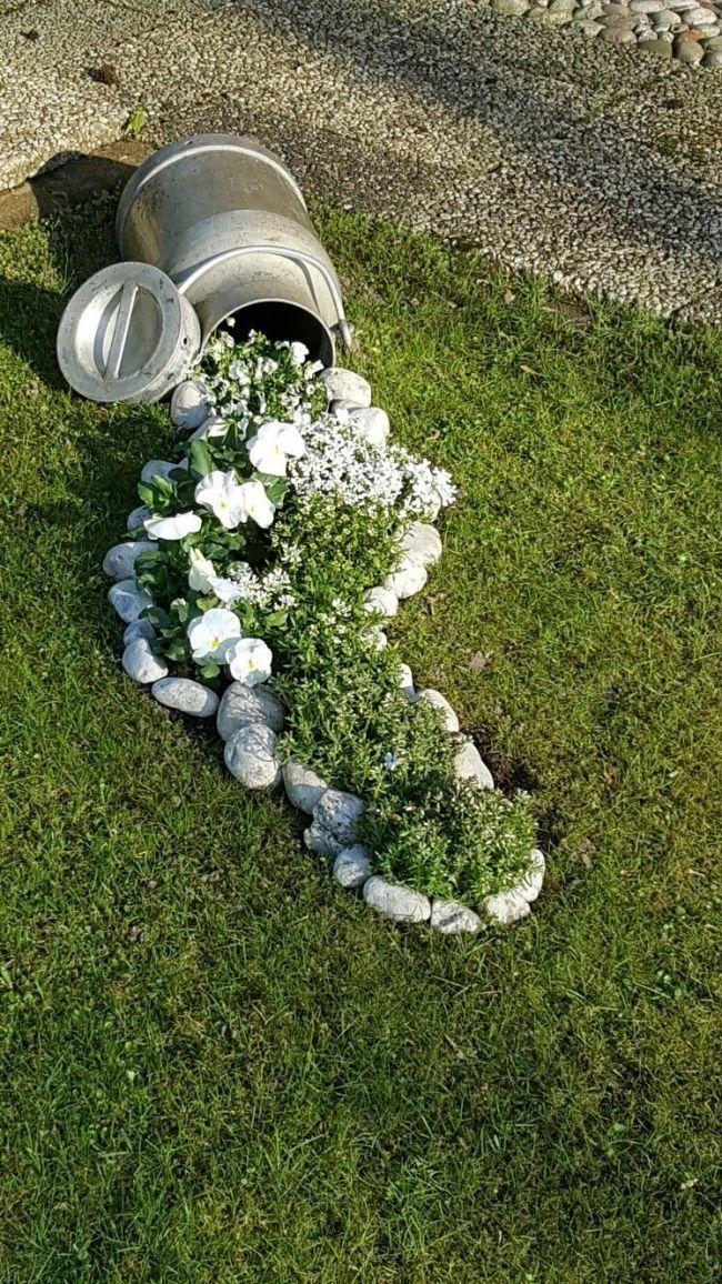 48 idee abbordabili per l'abbellimento del giardino