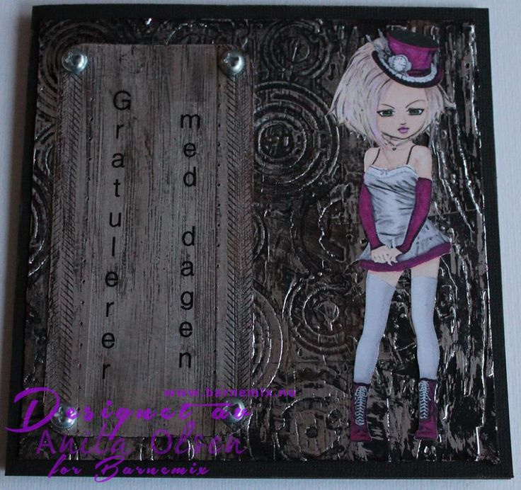 Barnemix - Steampunk-kort