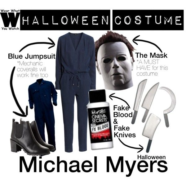 A Halloween Costume how-to inspired by Michael Myers from the Halloween film franchise.
