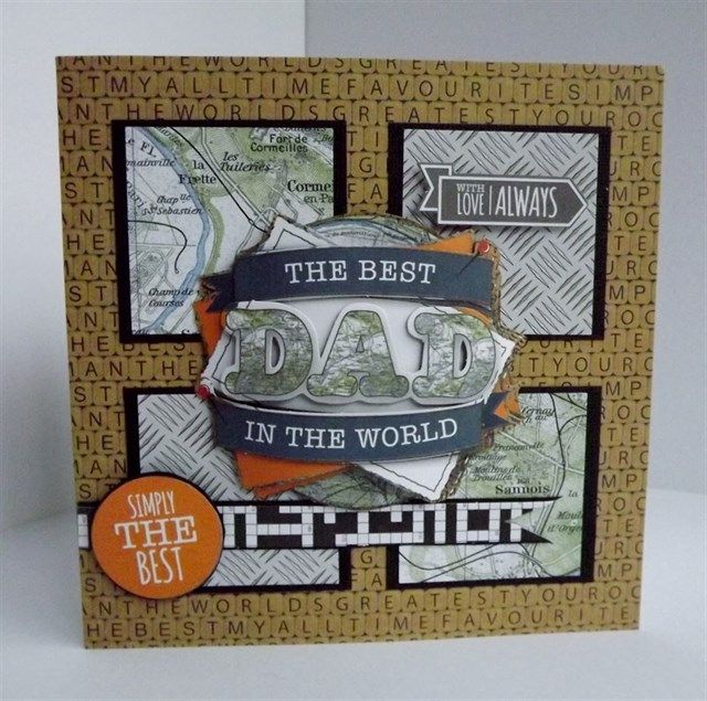 36 best Father's Day images on Pinterest | Cardmaking, Craft cards