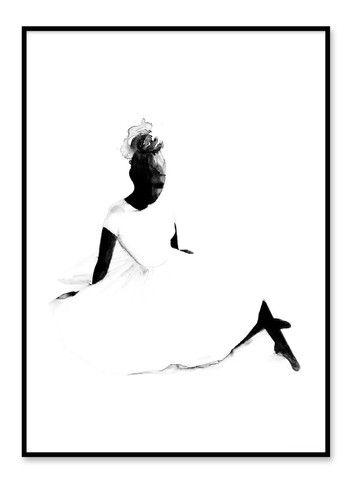 BEDROOM Magdalena Tyboni - Ballerina Print (50x70cm)