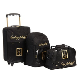 Baby Phat Pebble 3-piece Luggage Set