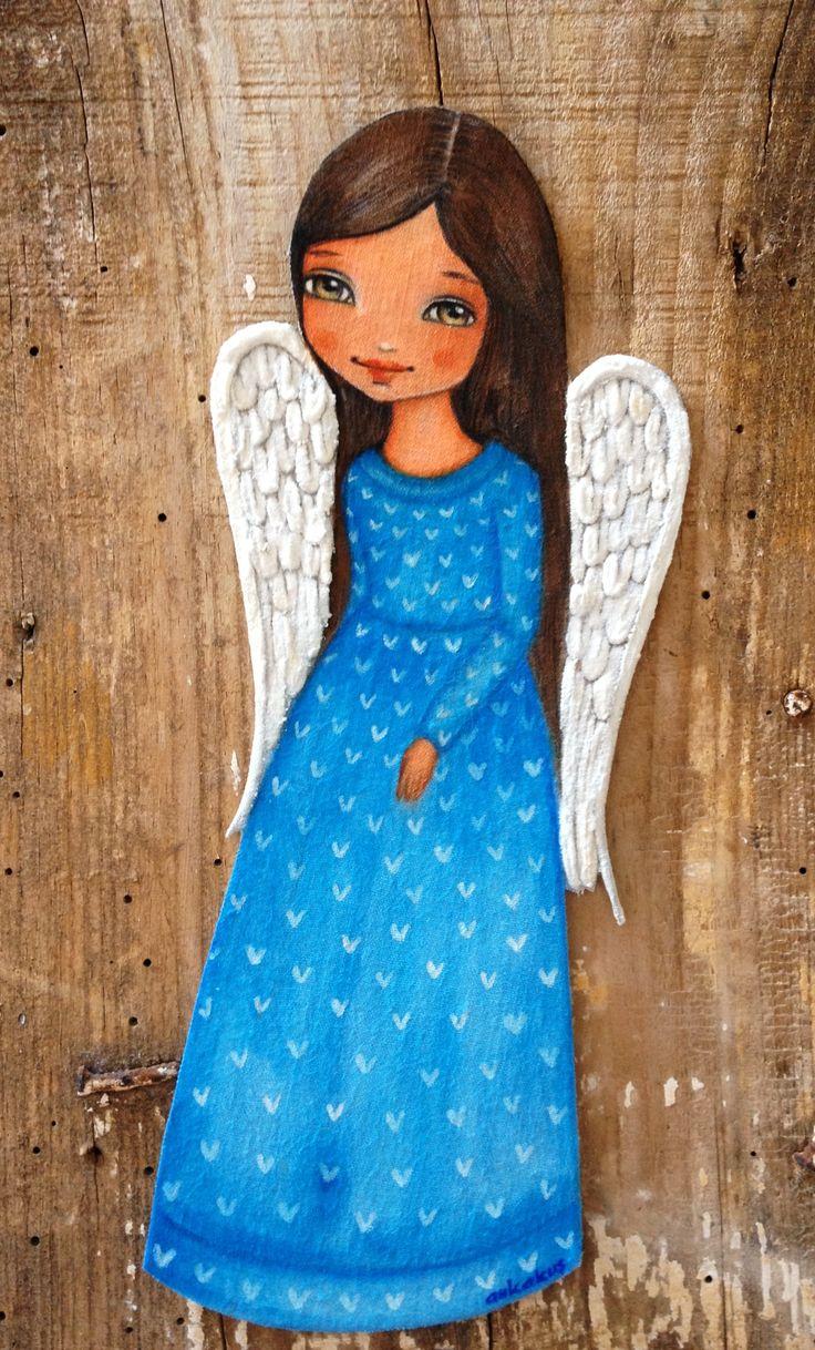Angel illustration by Ankakus