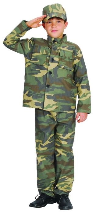 Costume Party Dress Up | Army Party Supplies | Camo Costume Decoration