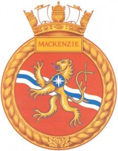 here is the ship's crest from my Navy days...