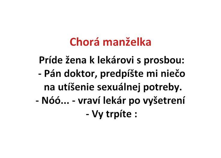 Chorá manželka - Spišiakoviny.eu