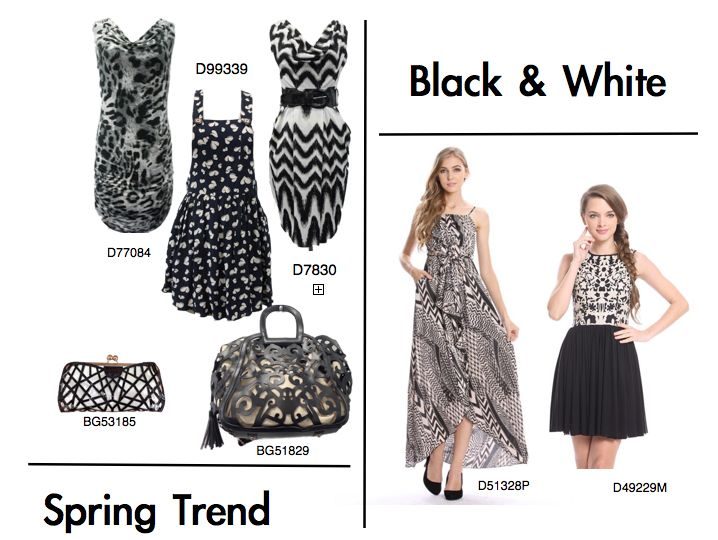 #monochrome #graphic #black #blackandwhite #springsummer #ss13 #seasonaltrend #fashion #instorenow #dresses #print #grideffect #stripes