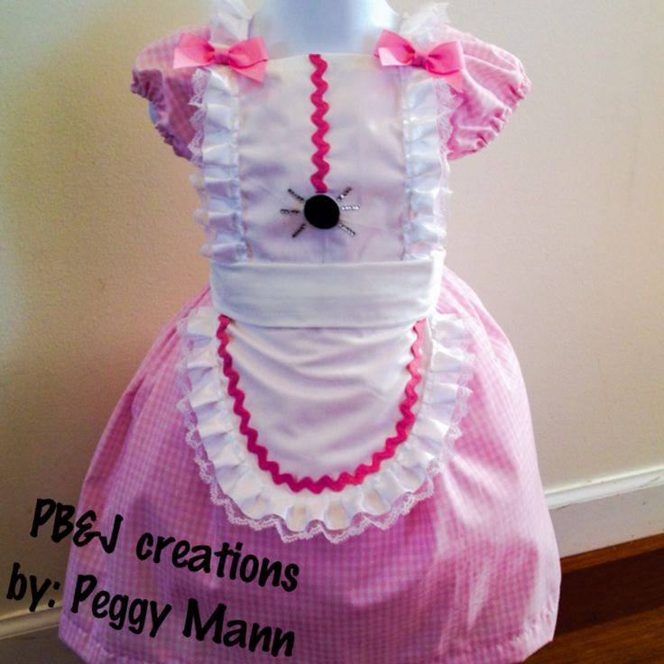 Little miss muffet toddler costume (pic only)