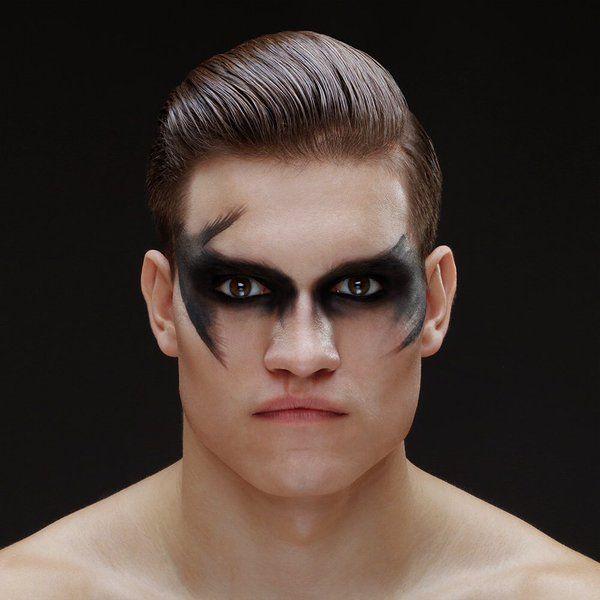 Futuristic Fashion Makeup Men