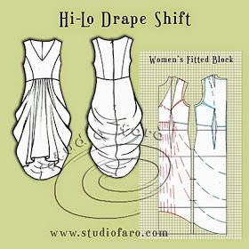 well-suited: Pattern Puzzle - Hi-Lo Drape Shift