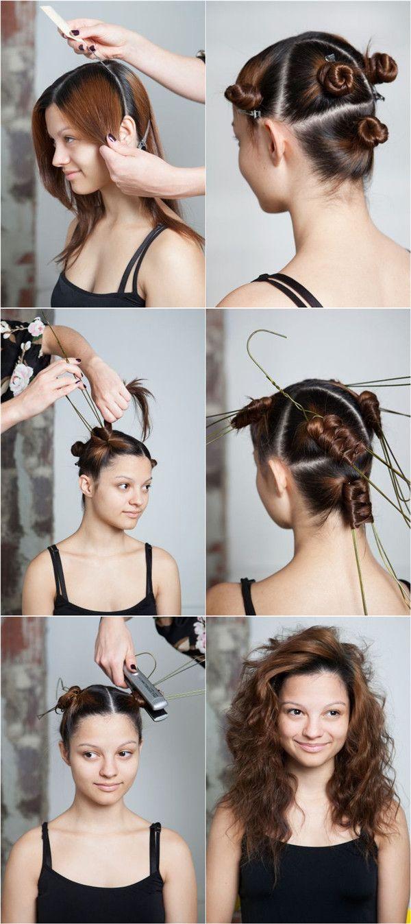 How To Make Curly Hair Tutorial Hair Tutorial
