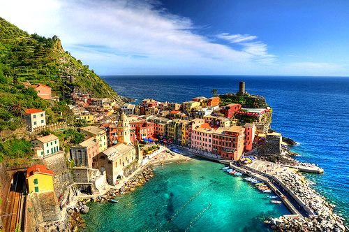 how beautiful... Vernezza, Italy: Destinations, Architects, Cinque Terre, Favorite Places, Places Abroad, Places I D, National Parks, Travel, Italy