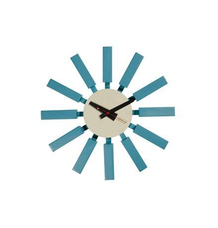 Replica George Nelson Block Clock by George Nelson - Matt Blatt