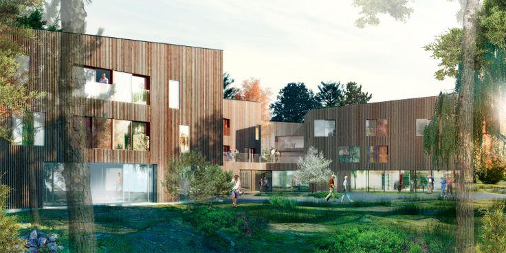 Majelden residential care facility in Linköping, Sweden | Semrén & Månsson