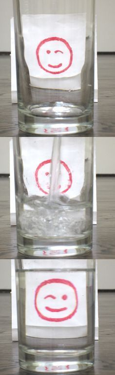 Refraction of Light Science Experiment -- Fun way to impress kids, too! :)
