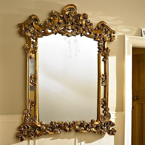 Large Gold Wall Mirror 77 best my fav gold ornate mirrors images on pinterest | mirror