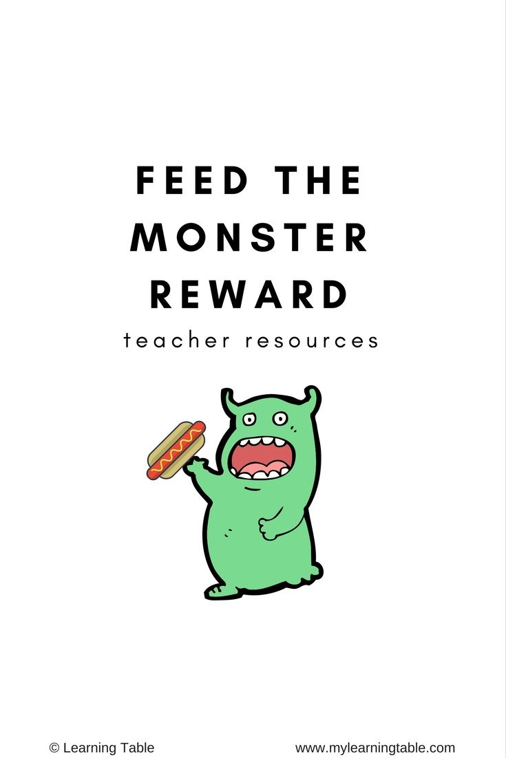 photo about Vipkid Reward System Printable identify Feed the Monster Benefit: Instructor Components VIPKID Trainer