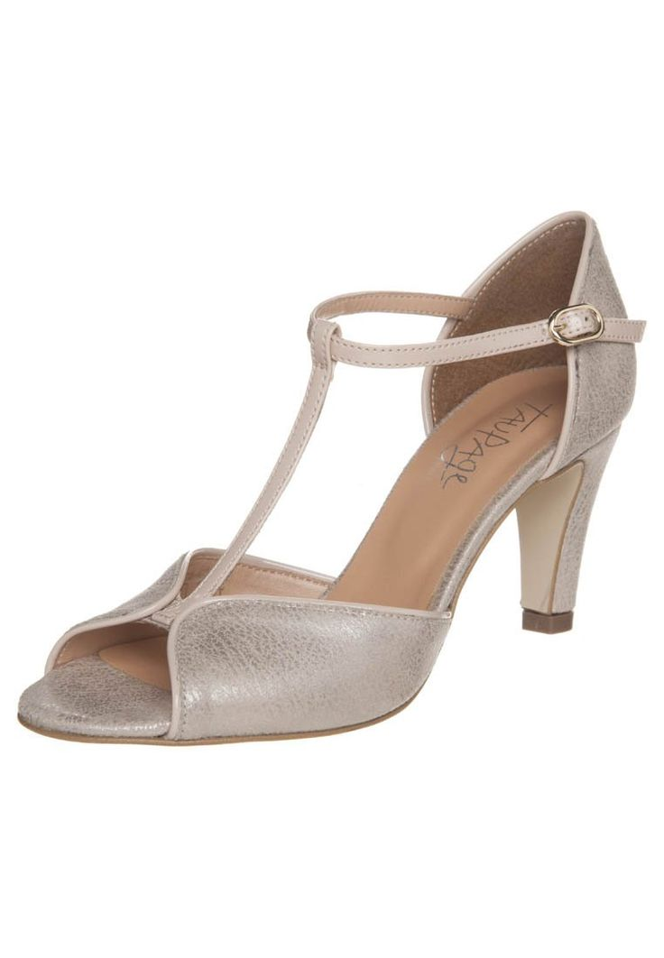 Taupage Peep toes gold
