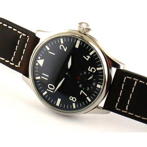 Parnis 44mm black dial Special@6 MECHANICAL 6498 £75 Men Watch