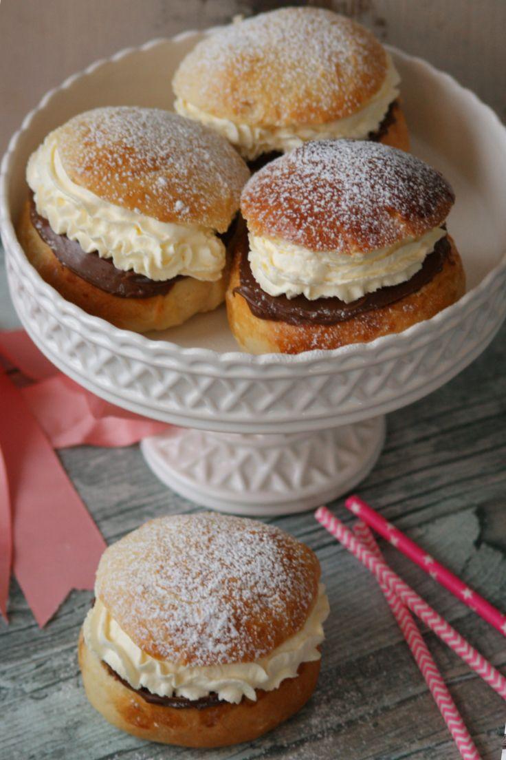 Nutellasemlor! För dig som älskar nutella, eller bara inte gillar mandelmassa. #semlor #fettisdag #semla #fattuesday #recipe #recept