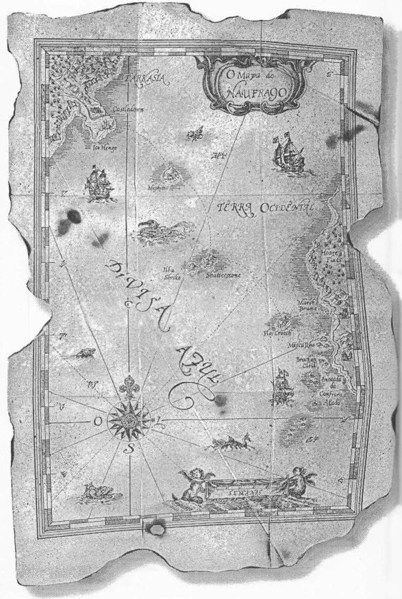 Mapa do Naufrago