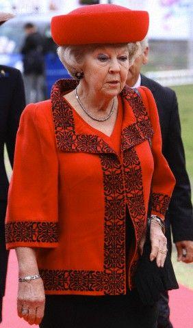 Queen Beatrix, June 5, 2012