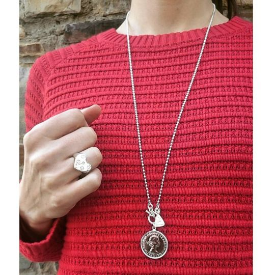 How about this beautiful combination from Von Treskow Jewellery Get it at 30% OFF   Heart Padlock Ring: http://bit.ly/1CawJmY Necklace W/ Aus Coin Padlock & Functioning Key: http://bit.ly/1feaeJ0 At My Jewellery Shop