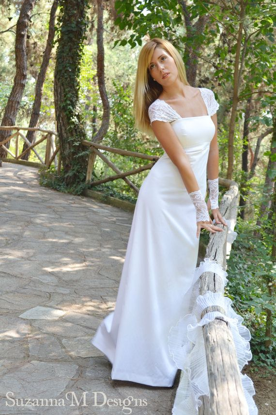 The 72 best images about vegan wedding dresses looks on for Organic cotton wedding dress