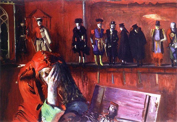 Leon Wyczółkowski - Stańczyk, 1898.