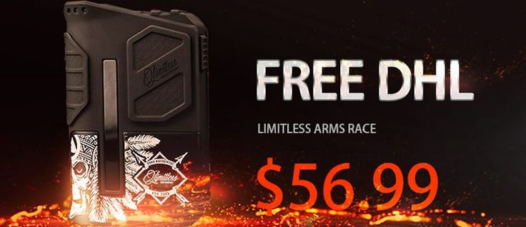 Limitless Arms Race Box Mod V2 $56.99 FREE SHIPPING