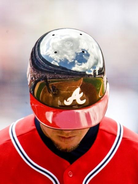 Atlanta Braves Chipper Jones.  Photographer: Pouyad Dianat