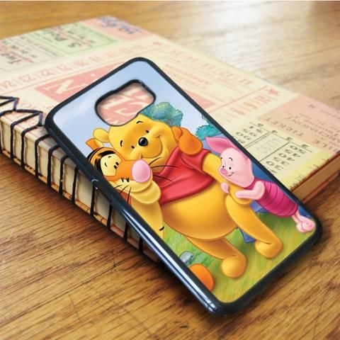 Winnie The Pooh Piglet Samsung Galaxy S6 Edge Plus Case