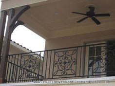 Chapel Hill NC custom wrought iron railings Raleigh Wrought Iron Co.