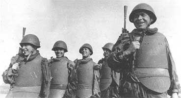 Гвардейцы-штурмовики 1-й ШИСБр. 1-й Белорусский фронт, лето 1944 г.