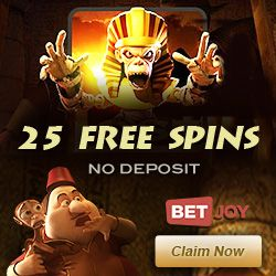 Click Here to Claim 25 Free Spins at Betjoy Casino