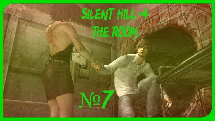 Silent Hill-4 The Room прохождение от Cybil Bennett часть 7.