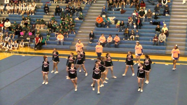 Schuylkill Valley HS Small Varsity Cheer Routine Cedar Crest Competition...