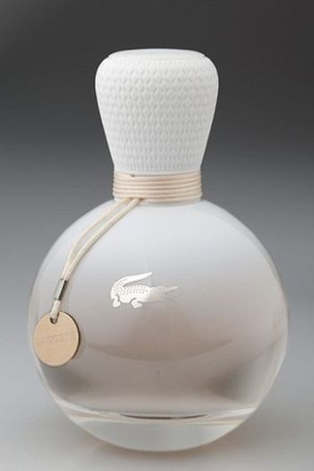 """Lacoste is launching a new fragrance for woman in 2013, a very feminine perfume called """"Eau de Lacoste by Lacoste""""."""
