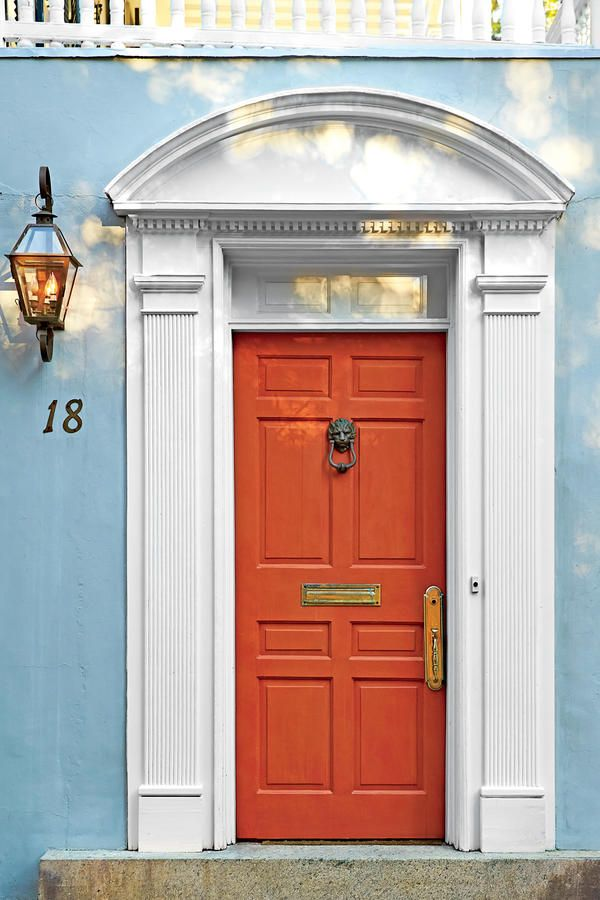 13 Bold Colors for Your Front Door & 530 best Curb Appeal images on Pinterest | Curb appeal Home ... pezcame.com