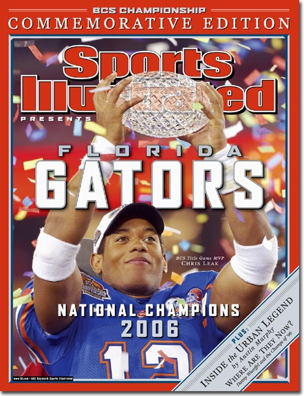 Chris Leak on Sports Illistrated, Gators 2006 champions