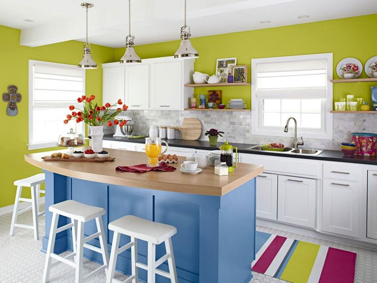 Country Small Kitchen Design