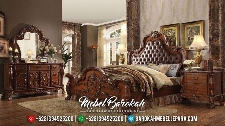 Set Kamar Tidur Klasik Modern Ukiran Mebel Jepara Murah Mewah Terbaru Versailles JM-0421