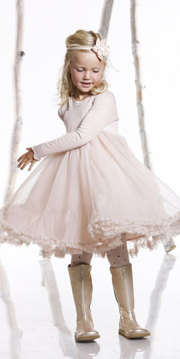 If I made the LLK Blue Ribbon and then put on a nylon chiffon overskirt, I could do the double side ruffle trim to the chiffon to get this look.