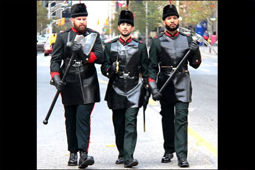 Pioneers from The Queen's Own Rifles of Canada.