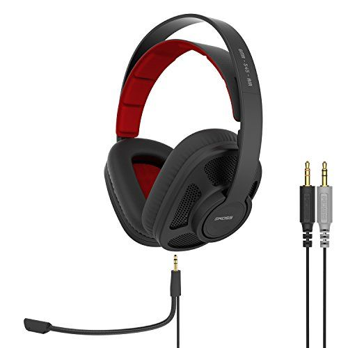 FarCry 5 Gamer  #Koss GMR-545-AIR Open-Back #Gaming #Headphones | #Detachable #Cord #Design | Two #Cords with #Microphones #Included | #Light #Weight   Price:     The #Koss GMR-545-AIR Open-Back #Gaming #Headphones are specifically designed and engineered to create a realistic environment for expansive #gaming experiences. Featuring new custom tuned elements and open-back #design, the GMR-545-AIR #Gaming #Headphones deliver open, wide-ranging 3D sound for captivating #gaming