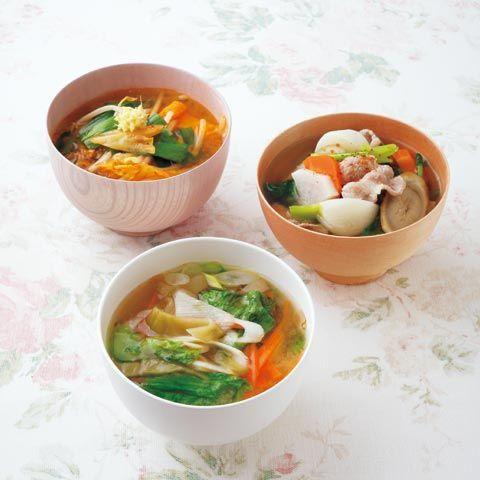 【美腸みそ汁】キムチもやしみそ汁 | レシピ | ダイエット、レシピ、運動のことならフィッテ | FYTTE