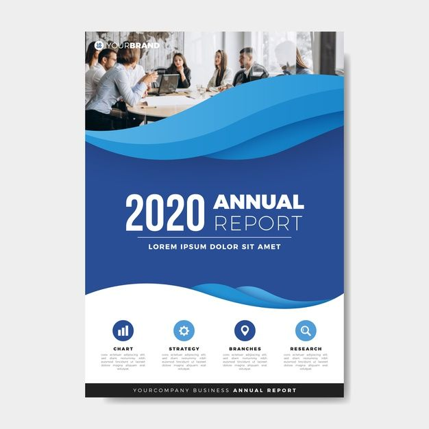Download Coworkers Meeting Annual Report Template For Free In 2020 Annual Report Brochure Cover Design Brochure