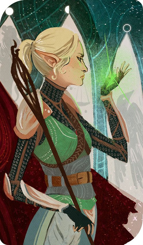 This looks exactly like my elf inquisitor. Clothes and everything!