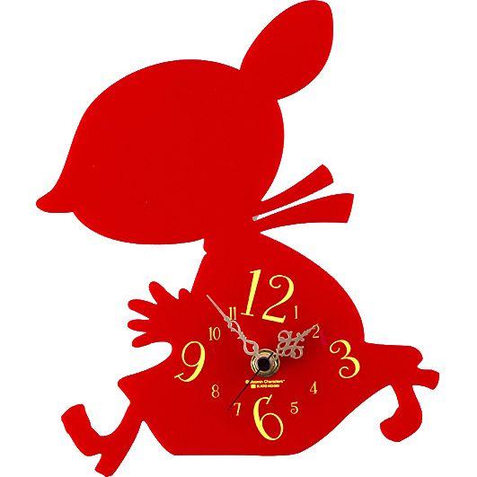 [Moomin] silhouette clock / Little My